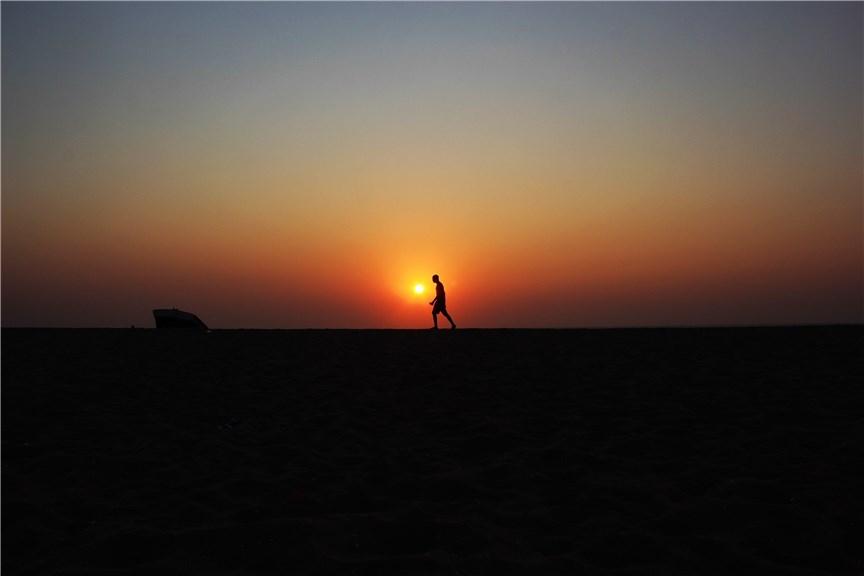 朝と夜どちらで走る