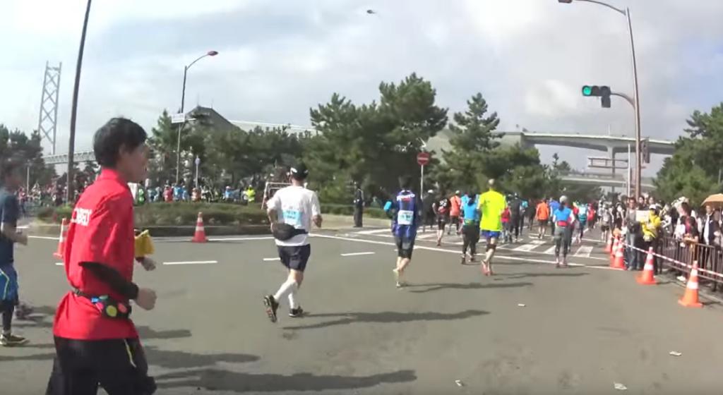 神戸マラソン コース 高低差