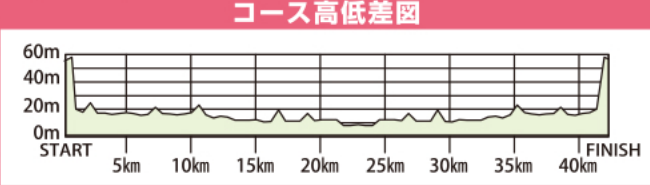 福知山マラソン 高低差
