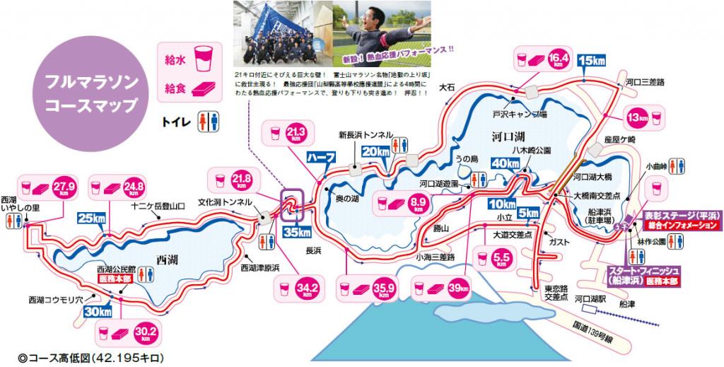富士山マラソン コース 攻略