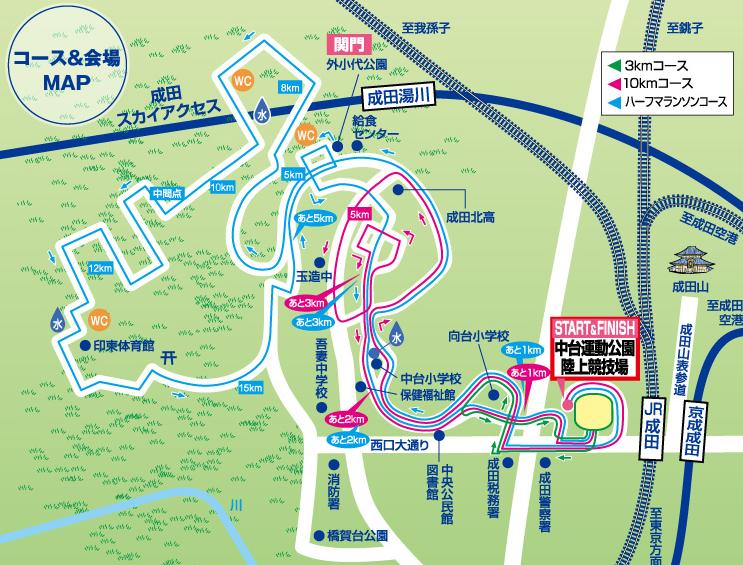 成田POPラン コース 攻略