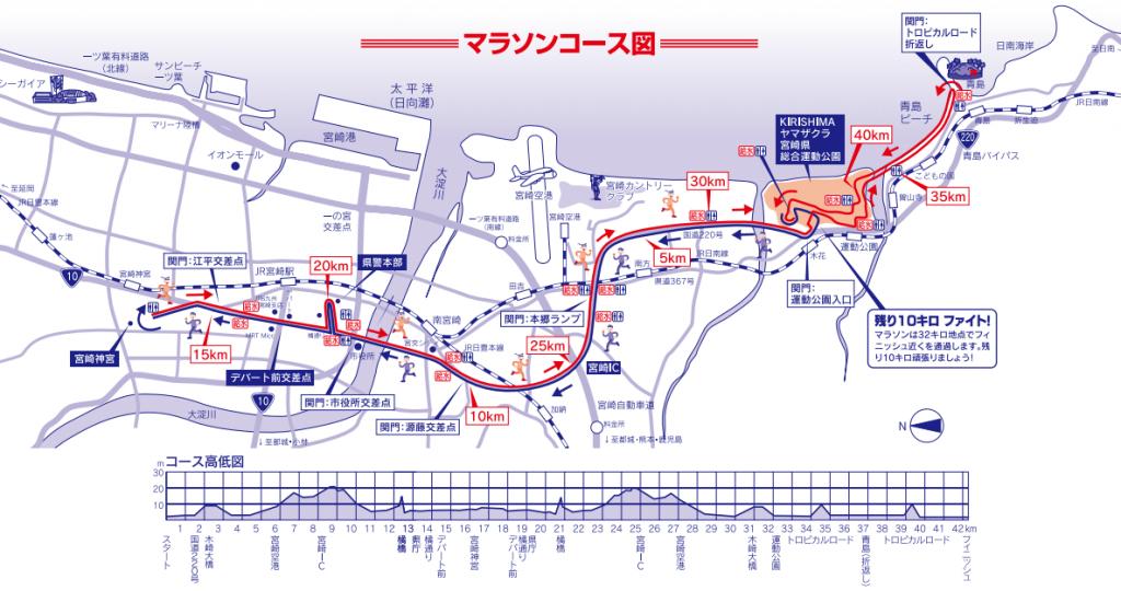 青島太平洋マラソン コース 攻略