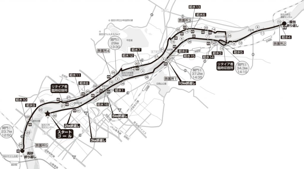 加古川マラソン コース 攻略