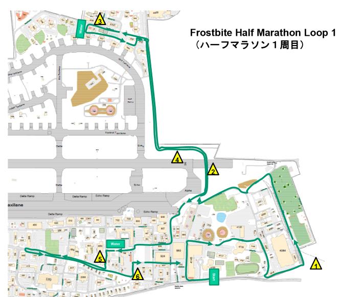フロストバイトロードレース コース