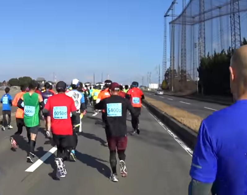 勝田全国マラソン 写真