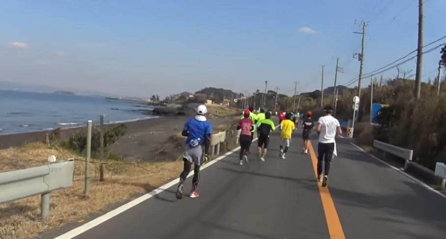 館山若潮マラソン 写真