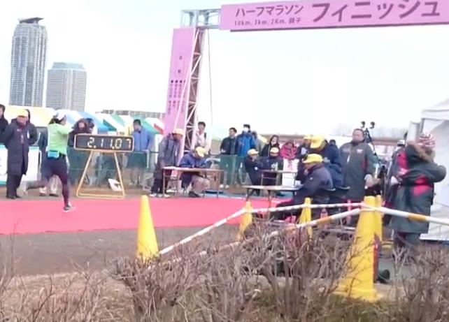 東京赤羽ハーフマラソン 初心者