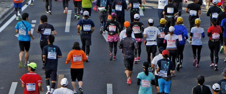 一色マラソン 写真