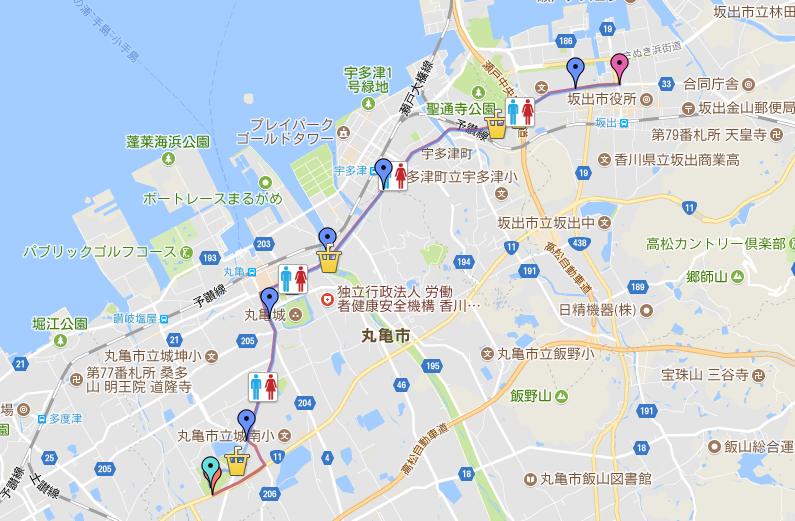 丸亀国際ハーフマラソン コース攻略