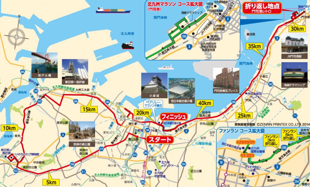北九州マラソン コース