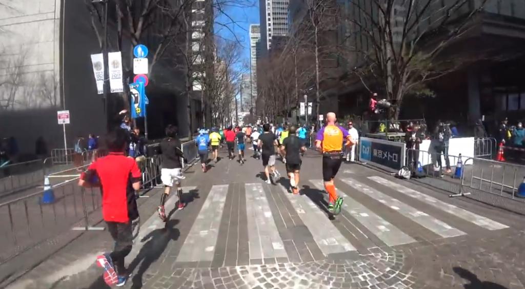 東京マラソン 交通規制